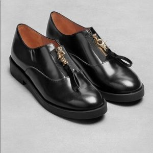 & Other Stories Zip-up Loafers size 39